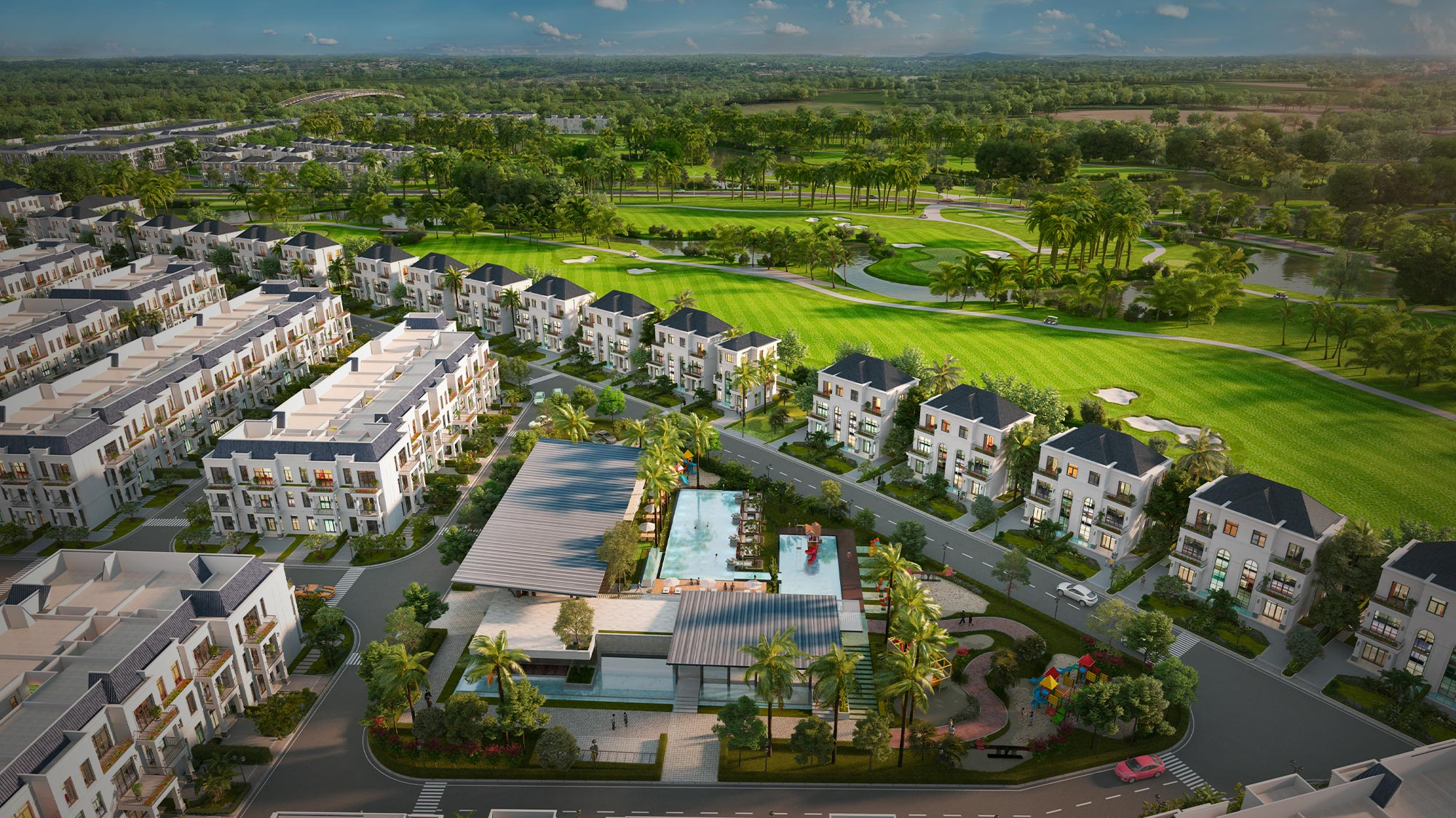 Biệt thự West Lakes Villas Long An